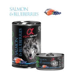 Alpha Spirit Dog Salmon &...