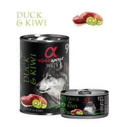 Alpha Spirit Dog Duck & Kiwi