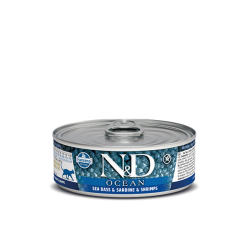 N&D Cat Ocean Sea Bass,...