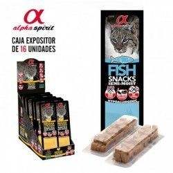 Alpha Spirit Cat Snack Fish...