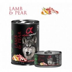 Alpha Spirit Dog Lamb & Pear
